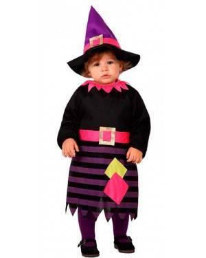 Costume Streghetta Viola Bebè