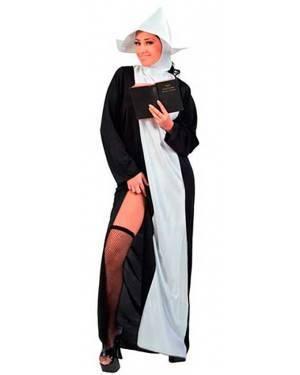 Costume Suora Sexy Adulto Tg. Unica