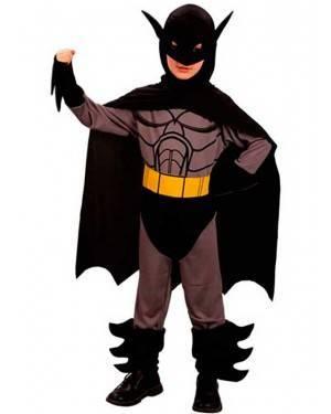 Costume Super Eroe. Bambino Tg. 4 a 12 Anni