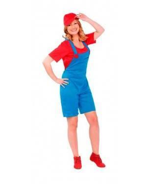Costume Super Mario Donna