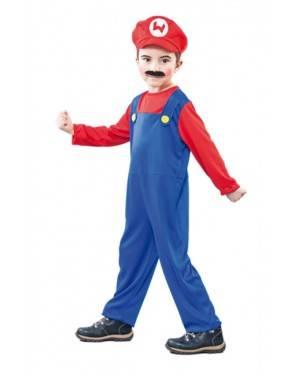 Costume Super Mario. Tg. 2 a 4 Anni