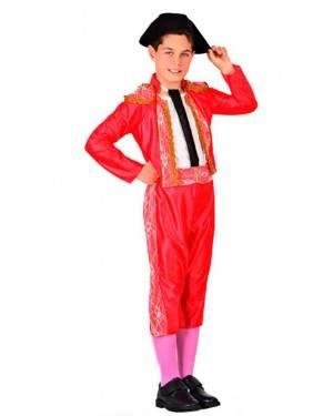 Costume Torero Rosso Bambino