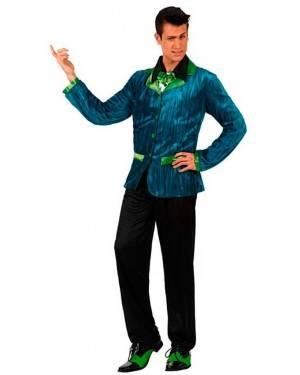 Costume Uomo Anni 60 Verde Tg. XL