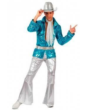 Costume Uomo Disco Turchese