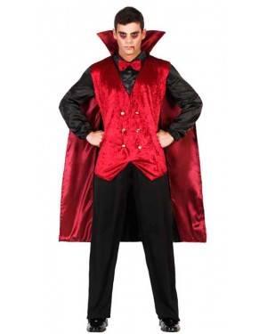 Costume Vampiro Rosso