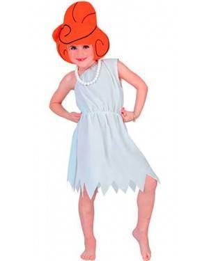 Costume Wilma Flinstone Bambina Tg. 7-12 Anni