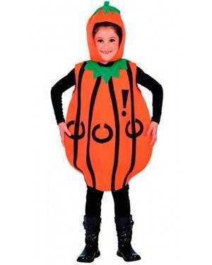 Costume Zucca Tg. 2 a 4 Anni