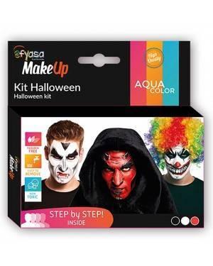 Kit Trucco ad Acqua Halloween 3 vasetti x2gr/u. per Carnevale | La Casa di Carnevale