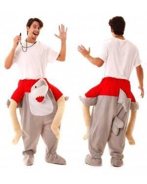 Costume Bagnino in spalla dello Squalo Carry Me per Carnevale | La Casa di Carnevale