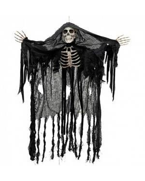 Fantasma Scheletro da Appendere con Luci 90cm