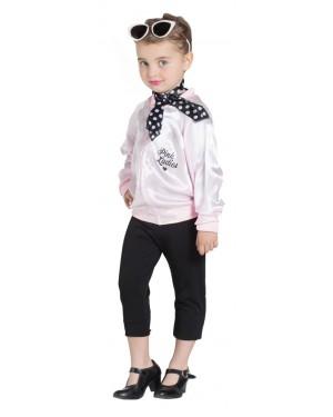 Giacca Pink Lady Bambina per Carnevale | La Casa di Carnevale