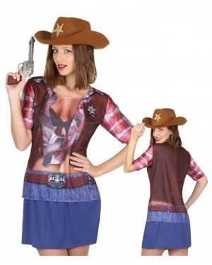 Maglietta Cowgirl Taglia per Carnevale   La Casa di Carnevale