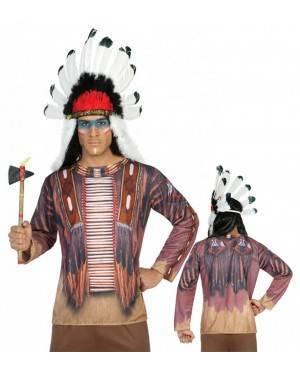 Maglietta Indiano Adulto per Carnevale   La Casa di Carnevale
