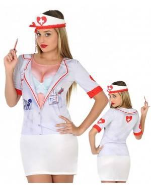Maglietta Infermiera Sexy Adulto per Carnevale | La Casa di Carnevale