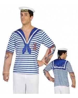 Maglietta Marinaio Uomo M-L per Carnevale | La Casa di Carnevale