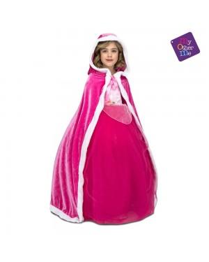 Mantello Rosa Bambini per Carnevale | La Casa di Carnevale
