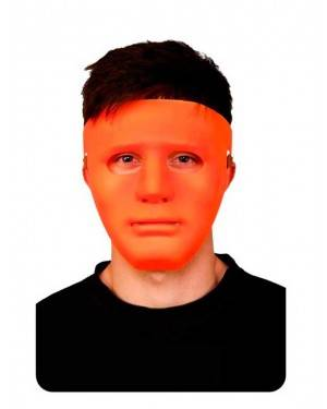 Maschera Arancione Neon Adulto