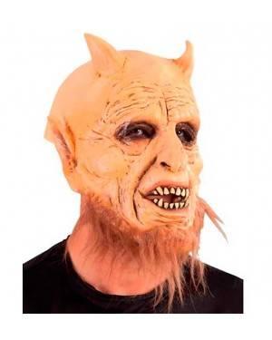 Maschera Diavolo Belcebu in Lattice