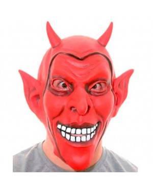 Maschera Diavolo Sorridente in Lattice