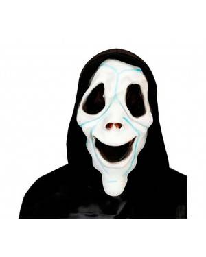 Maschera Fantasma Scream in Lattice