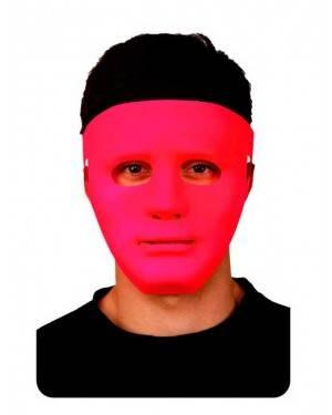Maschera Fucsia Neon Adulti