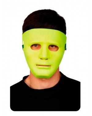 Maschera Gialla Neon Adulti