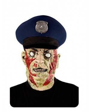 Maschera Polizia Zombie