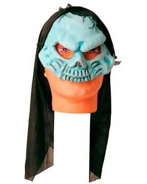 Maschera Teschio con Cappuccio in Lattice