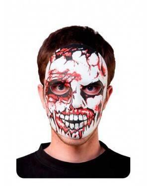 Maschera Teschio Zombie Adulto