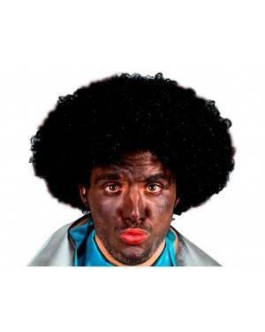 Parrucca Afro Nera per Carnevale