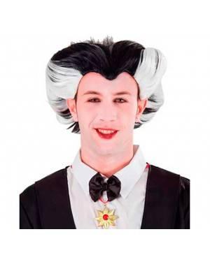 Parrucca da Dracula Per Uomo