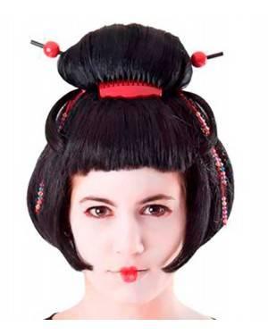 Parrucca Geisha Per Adulti