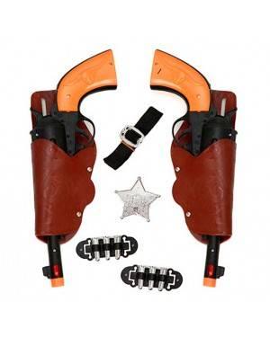 Set 2 Pistole Cowboy Adulto 30x12 cm
