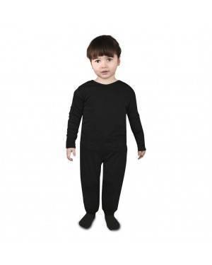 Sottoveste a pantalone nera Bebé