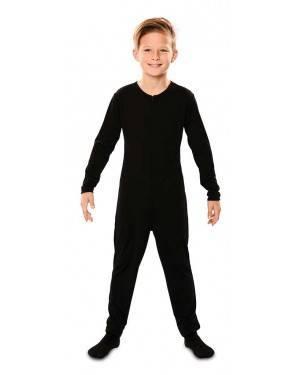 Sottoveste a pantalone nera per bambini