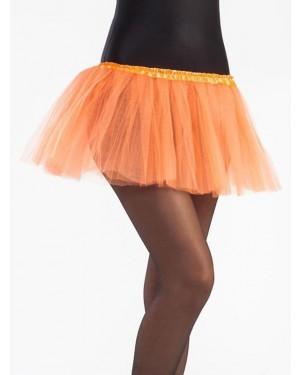 Tutù Arancione 30 cm  per Carnevale | La Casa di Carnevale
