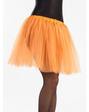 Tutù Arancione 40 cm per Carnevale | La Casa di Carnevale