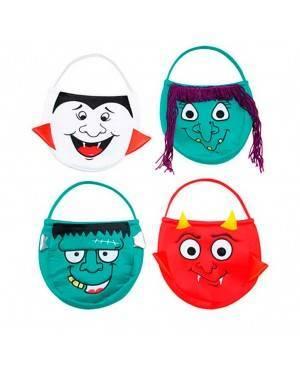 Borsa in Panno di Halloween Bambini per Carnevale