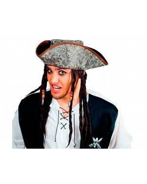 Cappello Pirata Rasta per Carnevale