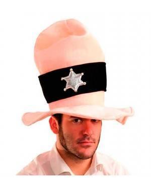 Cappello Sceriffo Gigante Per Adulti per Carnevale