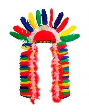Copricapo Capo Indiano per Carnevale