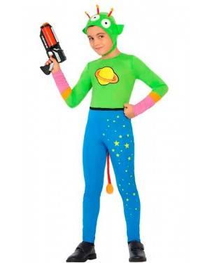 Costume Alieno 3-4 Anni per Carnevale