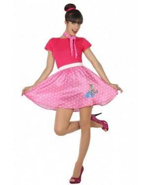 Costume Anni 50 Rosa Adulto per Carnevale | La Casa di Carnevale