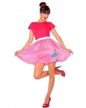 Costume Anni´50 Rosa Adulto XL