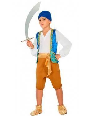 Costume Arabo Bambino 5-6 Anni