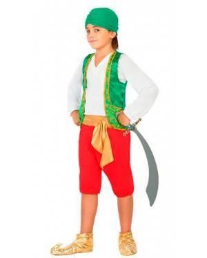 Costume Arabo Bambino 7-9 Anni