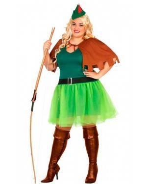 Costume Arciere Robin Donna XL