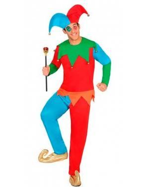 Costume Arlecchino Adulto XL
