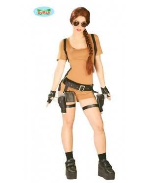 Costume Avventuriera Lara Adulto per Carnevale