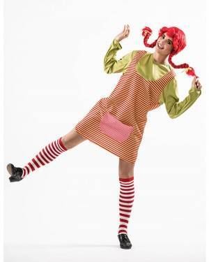Costume Bambina Biricchina Donna T. M/L